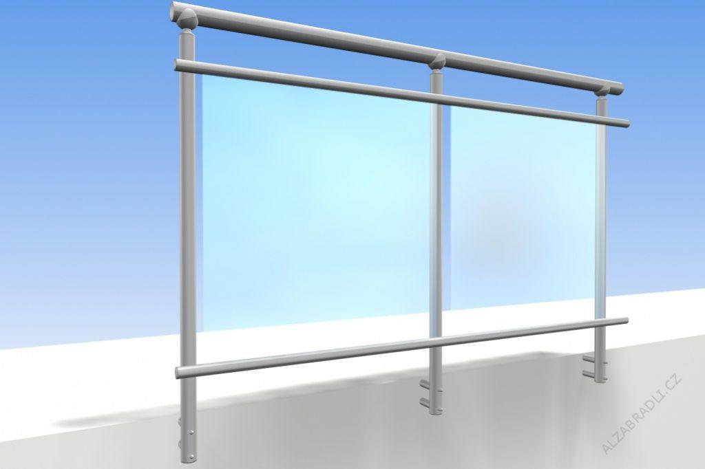 Geländer Für Terrassen Modell D2 - Gelanderkit.De